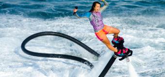 Flyboard World Champion Gemma Weston