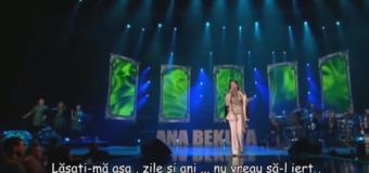 Ana Bekuta – Lăsați-vă, lăsați-vă oameni