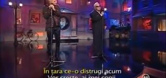 Mihai Bendeac & George Nicolescu – Mesaj politic