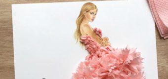 Ilustrare de modă de Edgar Artis