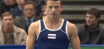 Gimnast – săritură record