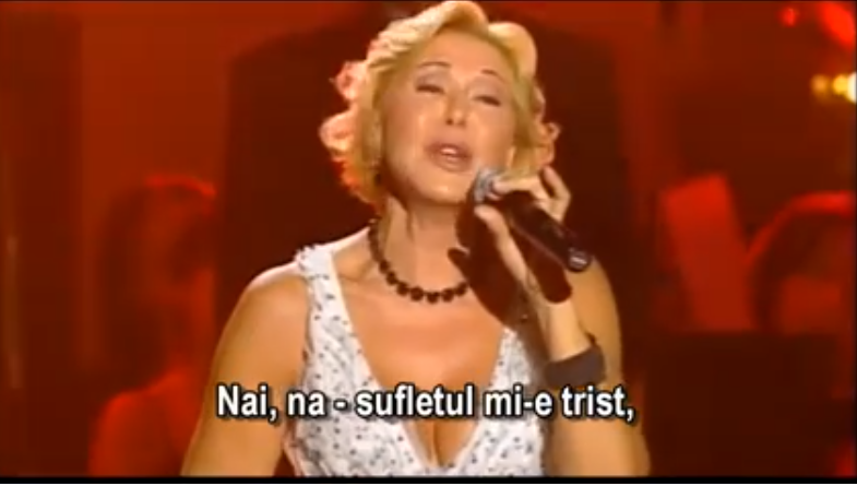 "Liuba Uspenskaia - ""Chitara plânge"" (Chitara maița)"