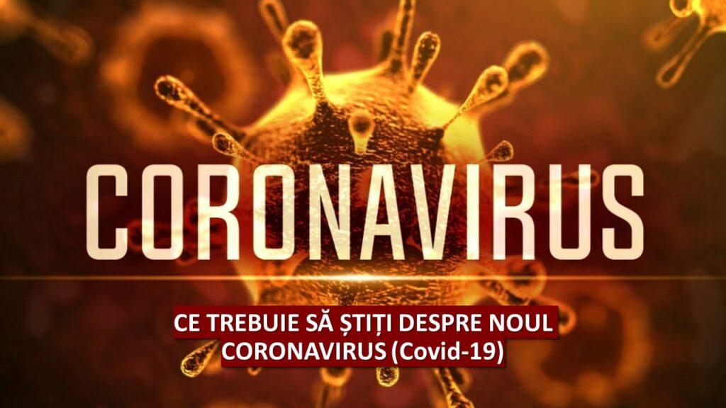 Infecția cu coronavirus, nu înseamnă , neapărat moarte și nici dezastru.Vom trăi cu coronavirus printre noi. Deci e bine de știut: