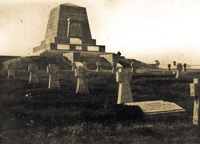 Monumentul de la Racovițeni - Bătălia de Crăciun