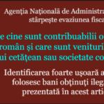 ANAF stârpește evaziunea fiscală